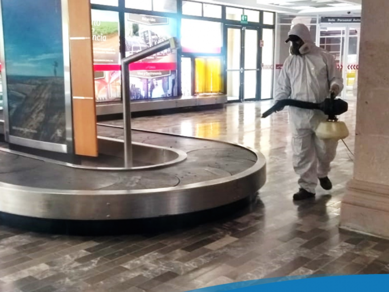 Preparan reapertura del Aeropuerto Internacional de Zacatecas