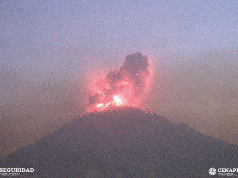 Preparan simulacro de evacuación cerca del Popocatépetl