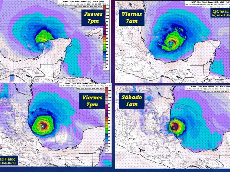 ¡Prepárate! Grace impactará esta zona de Veracruz como huracán