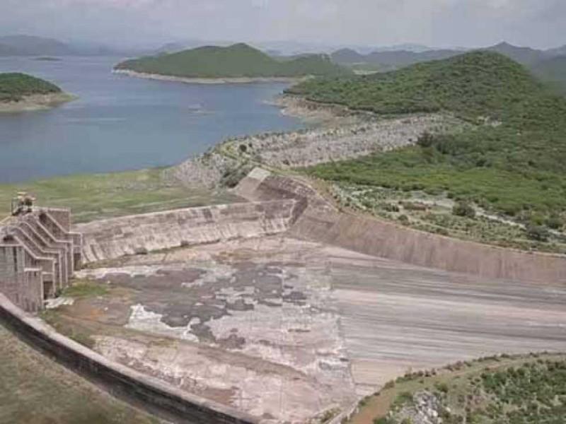 Presa del Mocuzari sin grandes captaciones de lluvia invernal