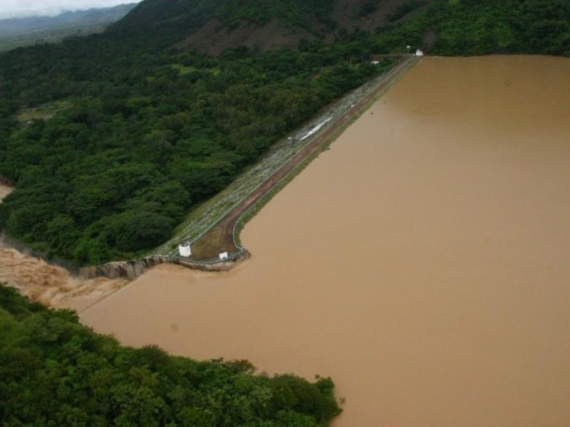 Presas en Chiapas con niveles altos de llenado: CONAGUA