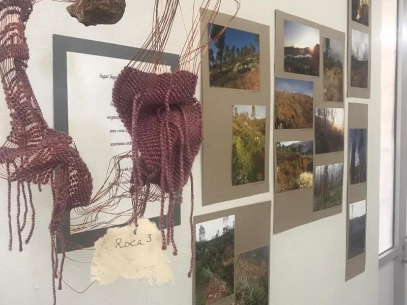 Presenta arte textil Patricia Dunn