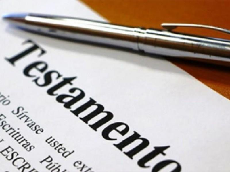 Presenta atraso campaña del mes del testamento