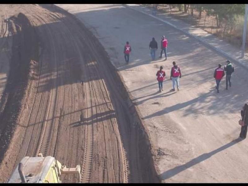 Presenta avance de 96% embovedado del bulevar Centenario en Navojoa