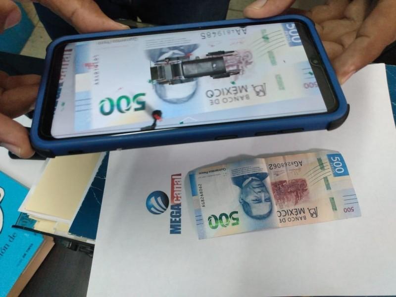 Presenta Banco de México aplicación para billetes