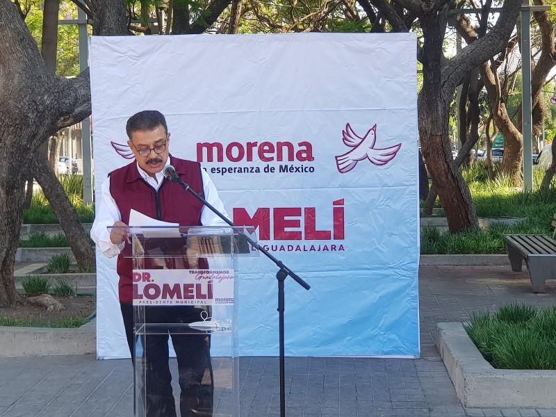 Presenta Carlos Lomelí estrategia de seguridad para Guadalajara