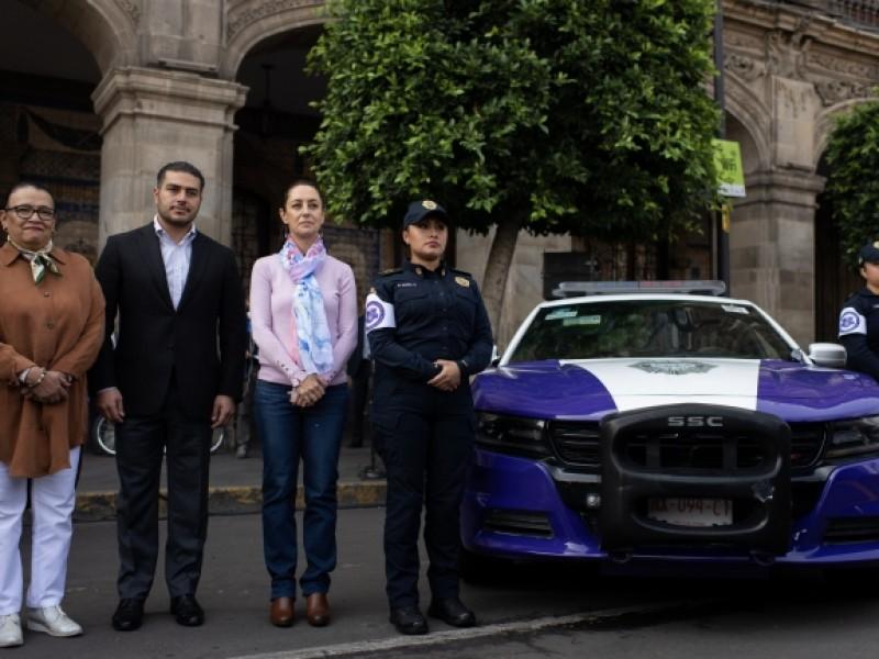 Presenta CDMX unidad policíaca contra violencia de género