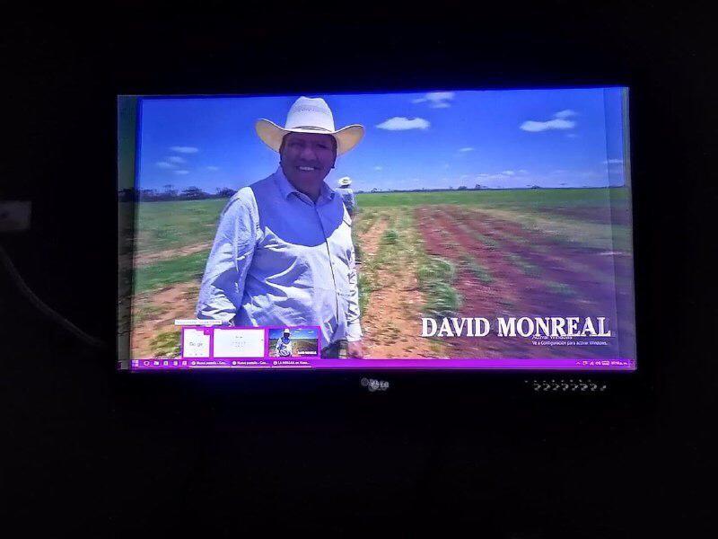 Presenta David Monreal