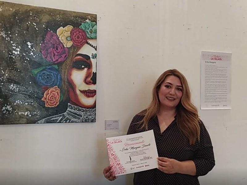 Presenta Erika Munguía su exposición