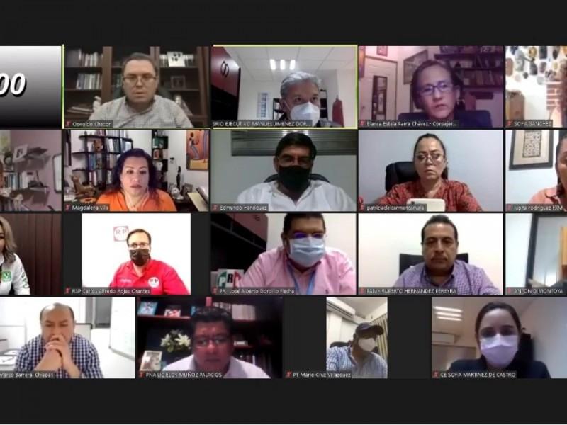 Presenta IEPC recomendaciones sanitarias para realizar actividades electorales