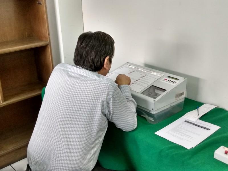 Presenta INE Sistema de Consulta en Zamora