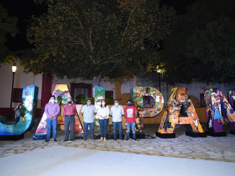 Presenta Jalpan Nueva imagen de sus monumentales letras