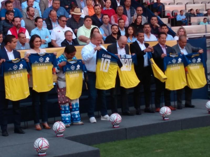 Presenta la edición 2020 de la Copa Jalisco