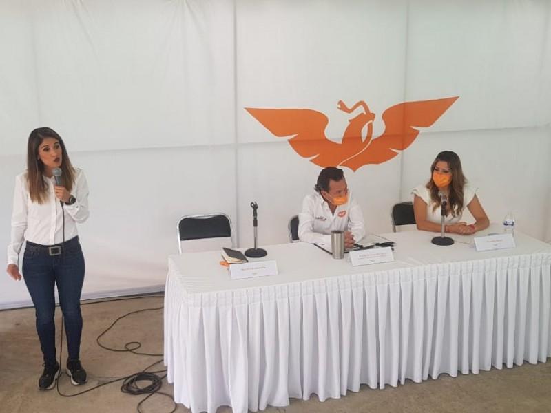 Presenta MC agenda para mujeres en Guadalajara