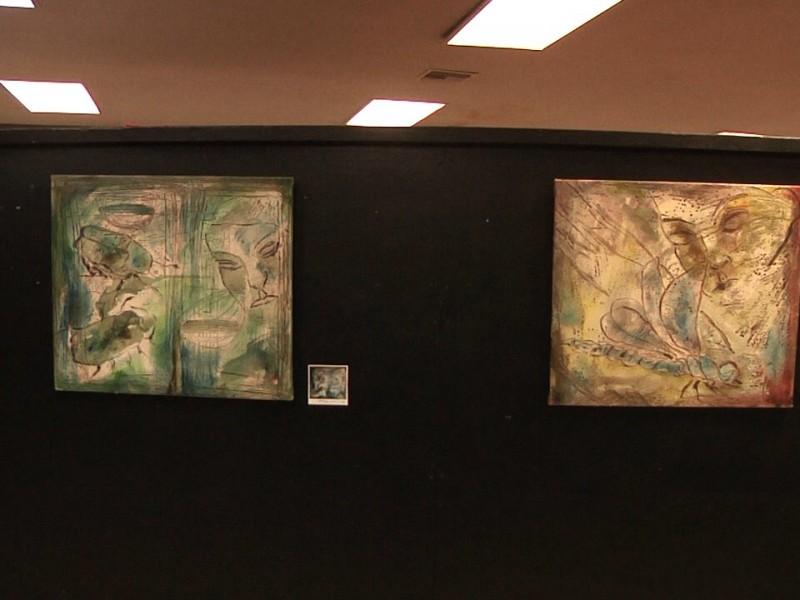 Presenta pintor su obra en ITN