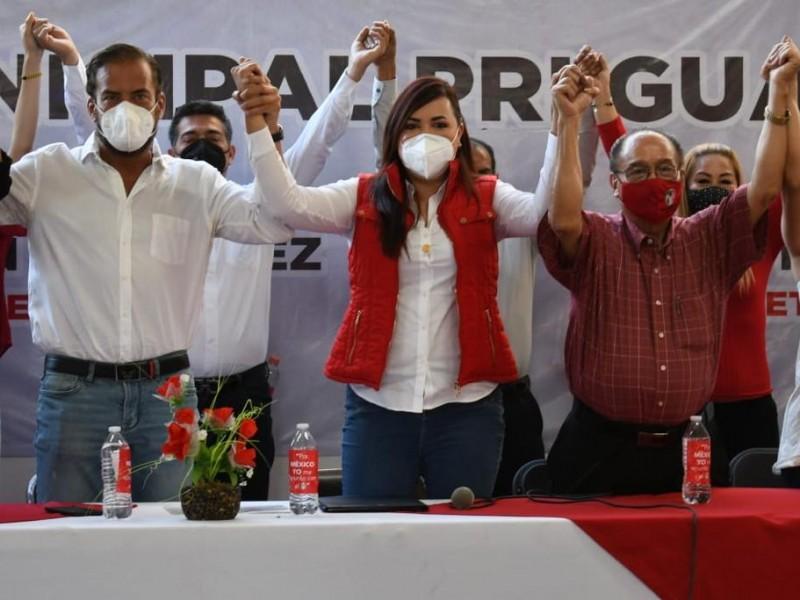 Presenta Sofía García planilla para Guadalajara