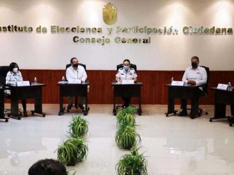 Presenta SSyPC plan de protección para candidatos y candidatas