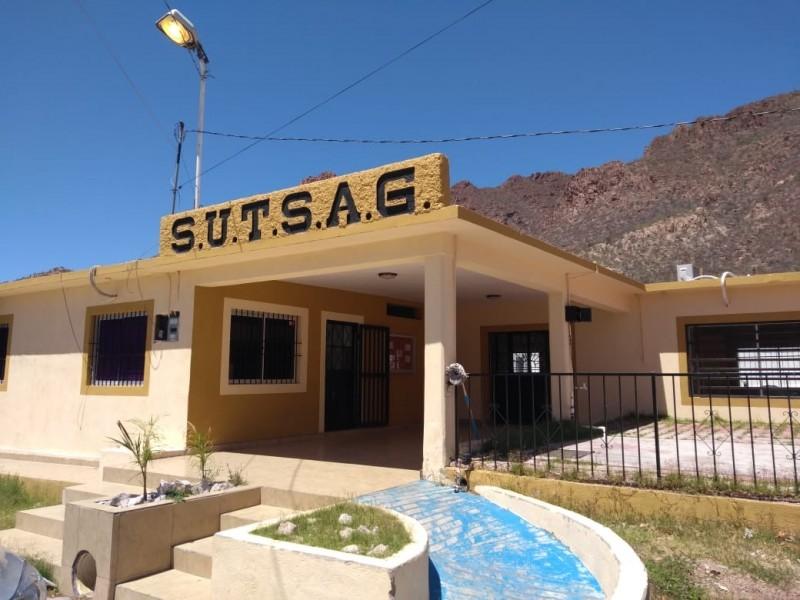 Presenta SUTSAG inconformidad por retención de cuotas, presentarán denuncia