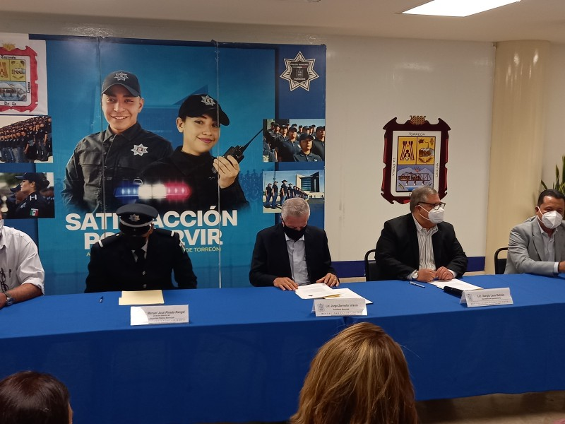 Presentan a nuevo titular de Seguridad Pública de Torreón