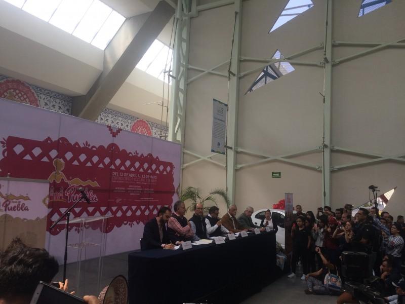 Presentan actividades de la Feria de Puebla 2019