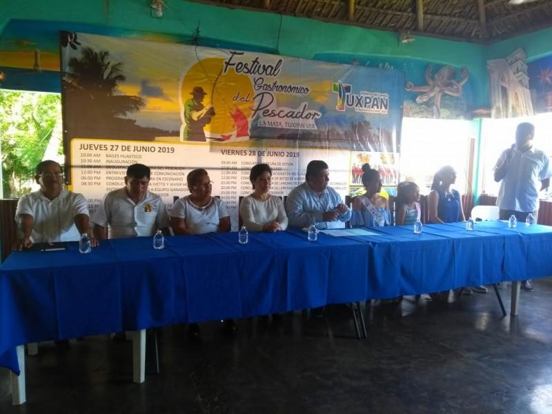 Presentan Actividades de la Feria del Pescador