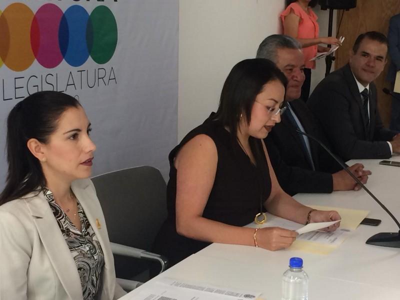 Presentan agenda de la Comisión de Educación
