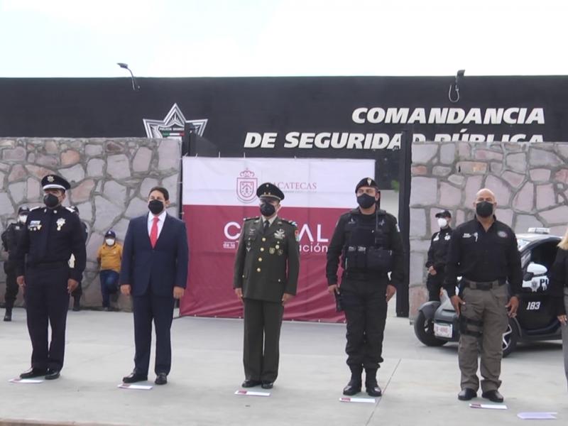 Presentan al Director de Seguridad Pública de la Capital zacatecana
