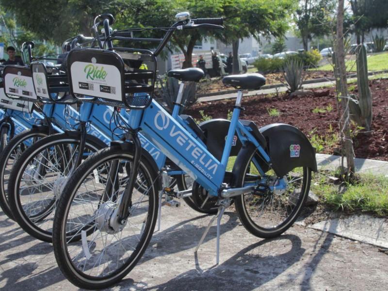 Presentan autoridades municipales bicicletas eléctricas para Querétaro