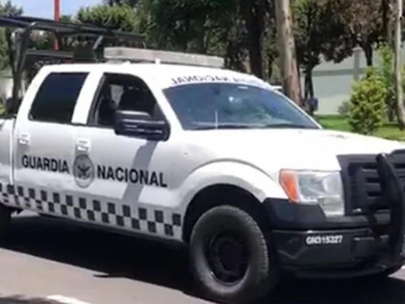 Presentan camionetas de la Guardia Nacional