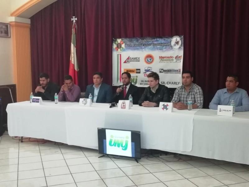 Presentan Carrera Ciclista Guadalupana