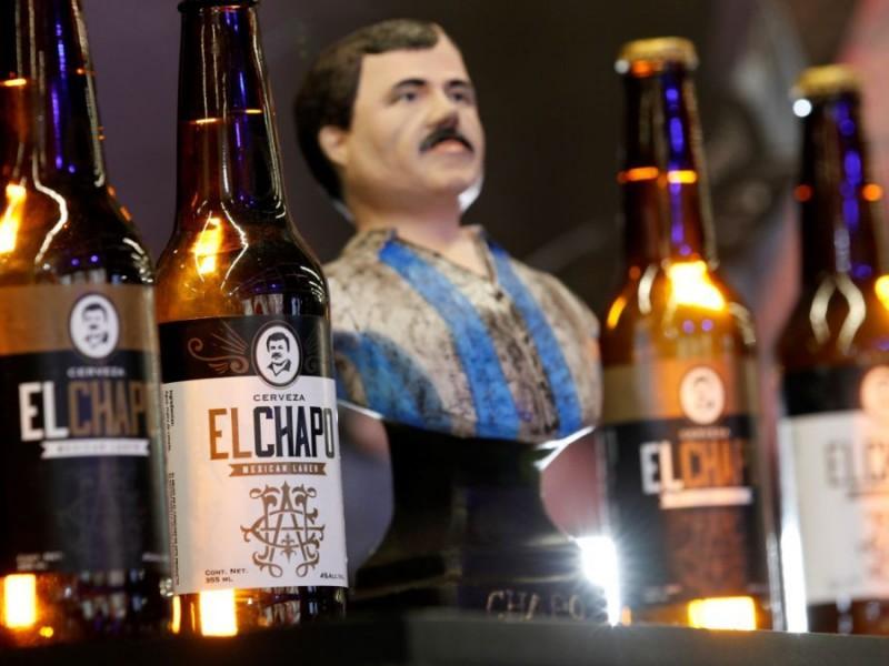 """Presentan cerveza artesanal del """"Chapo"""" en Intermoda"""