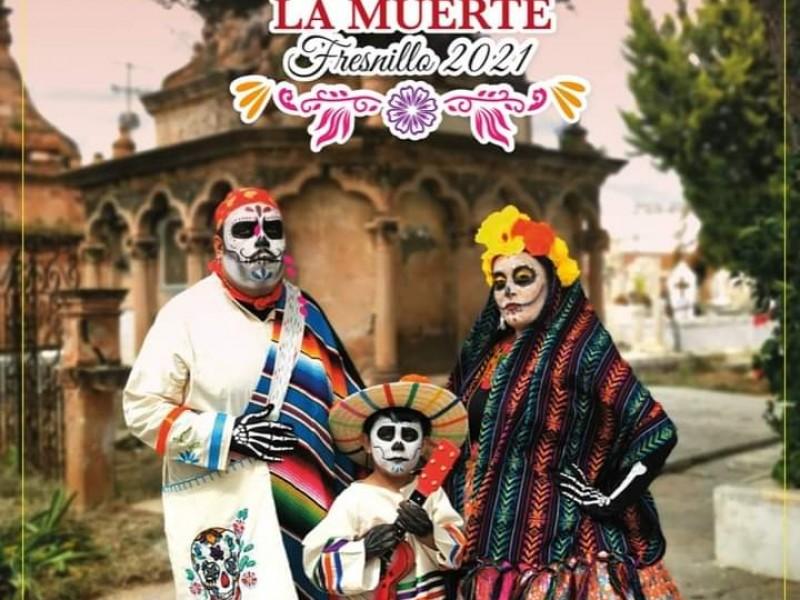 Presentan el festival de la muerte en Fresnillo