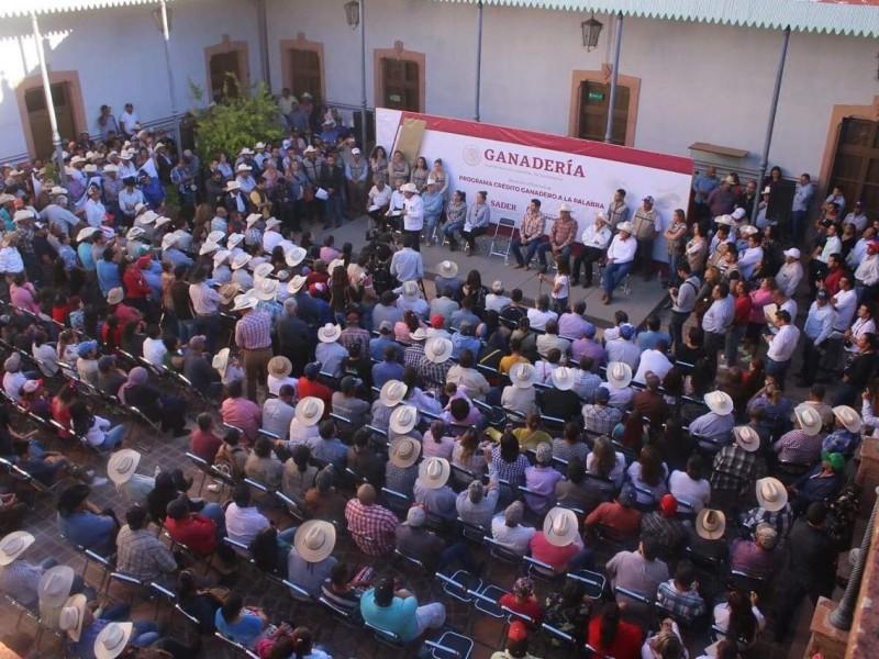 Presentan en Zacatecas Crédito Ganadero a la Palabra
