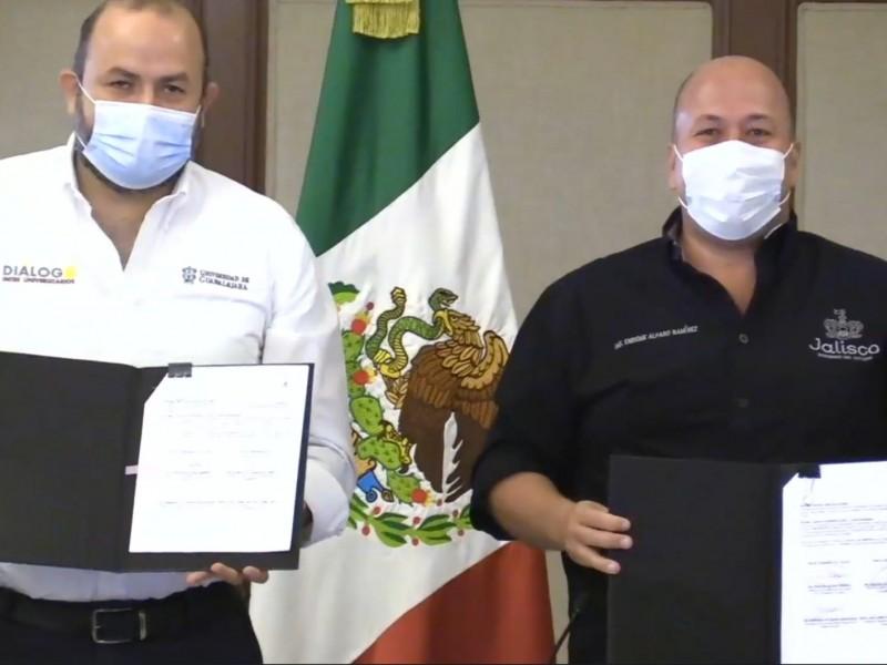 Presentan estrategia de aplicación de vacunas Covid,-19 en Jalisco