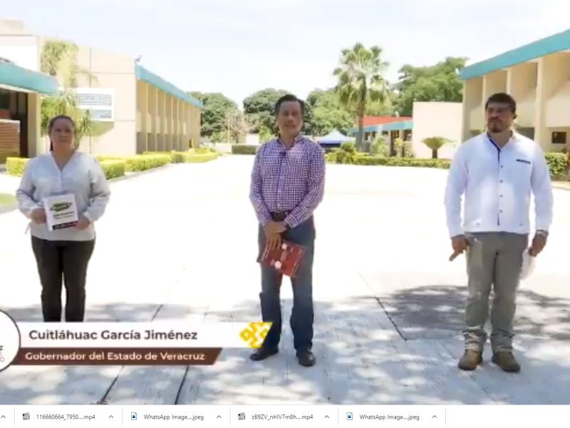 Presentan estrategia de regreso a clases en Veracruz