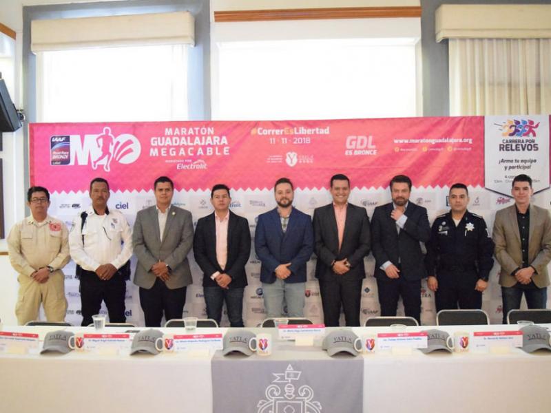 Presentan estrategia de seguridad para Maratón Guadalajara Megacable