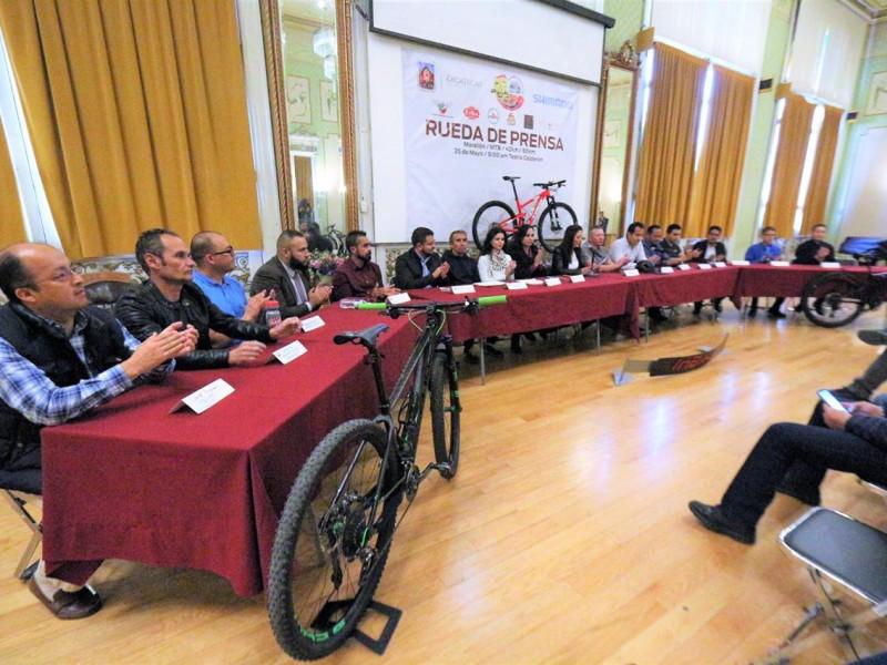 Presentan evento ciclista nacional a realizarse en Zacatecas