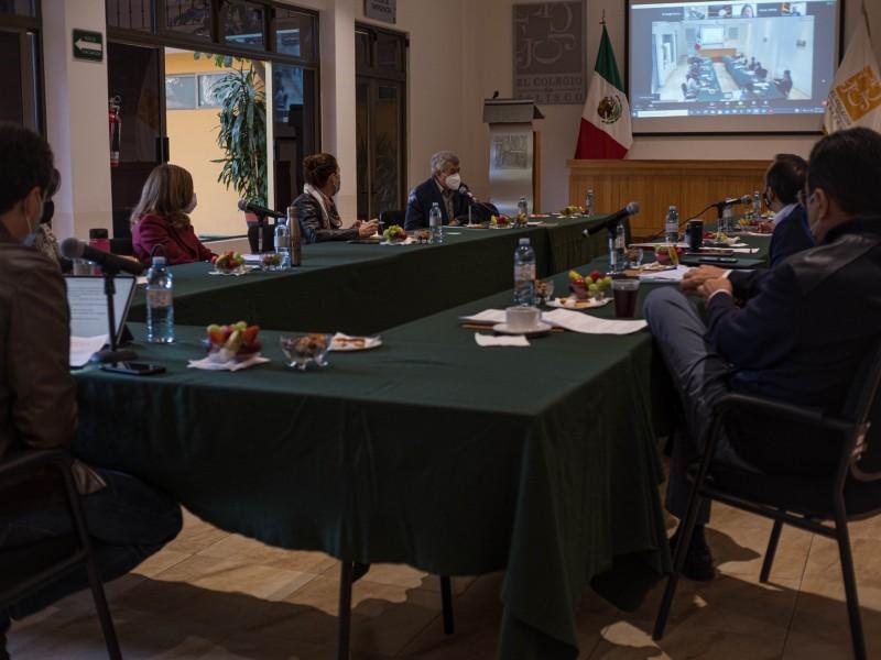 Presentan integrantes de la Mesa de Análisis del Pacto Fiscal