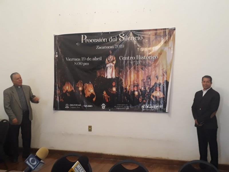 Presentan la 30 Procesión del Silencio de Zacatecas