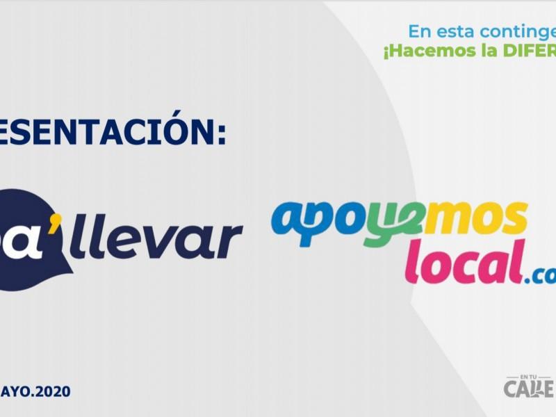 """Presentan la plataforma """"Pa'llevar-Apoyemos Local"""