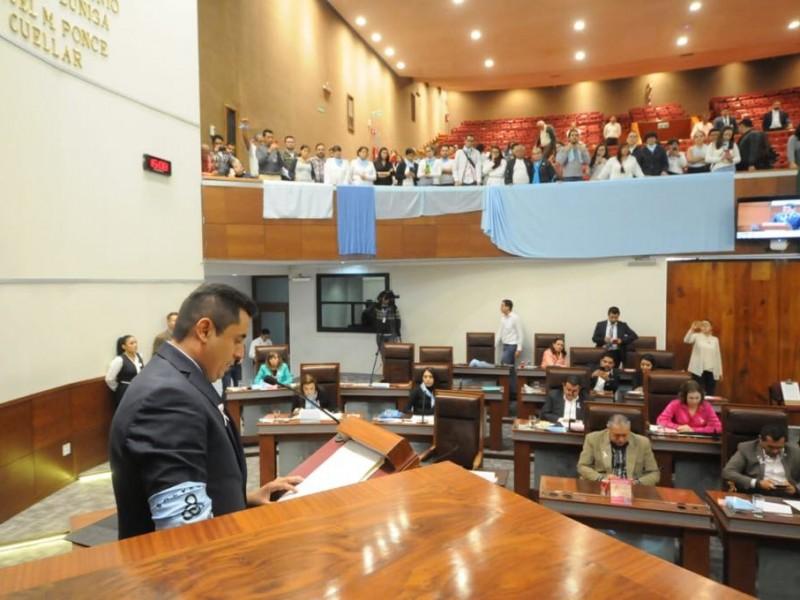 Presentan Ley Pro Vida en Congreso Zacatecano