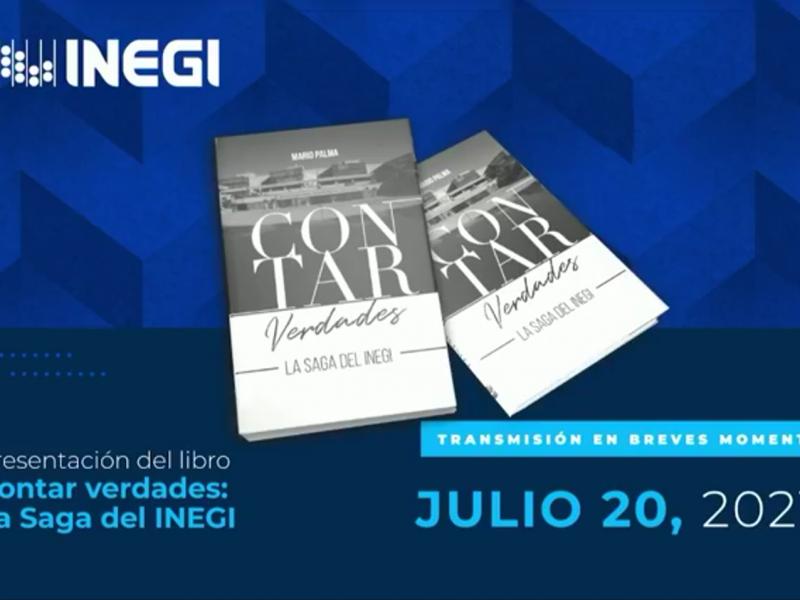 """Presentan libro """"Contar verdades, la saga del INEGI""""por Mario Palma"""