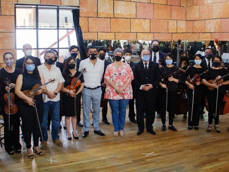 Presentan nueva Orquesta de Cámara de la UAQ