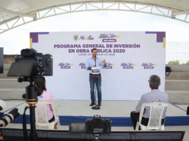 Presentan plan de obras 2020 en Medellín