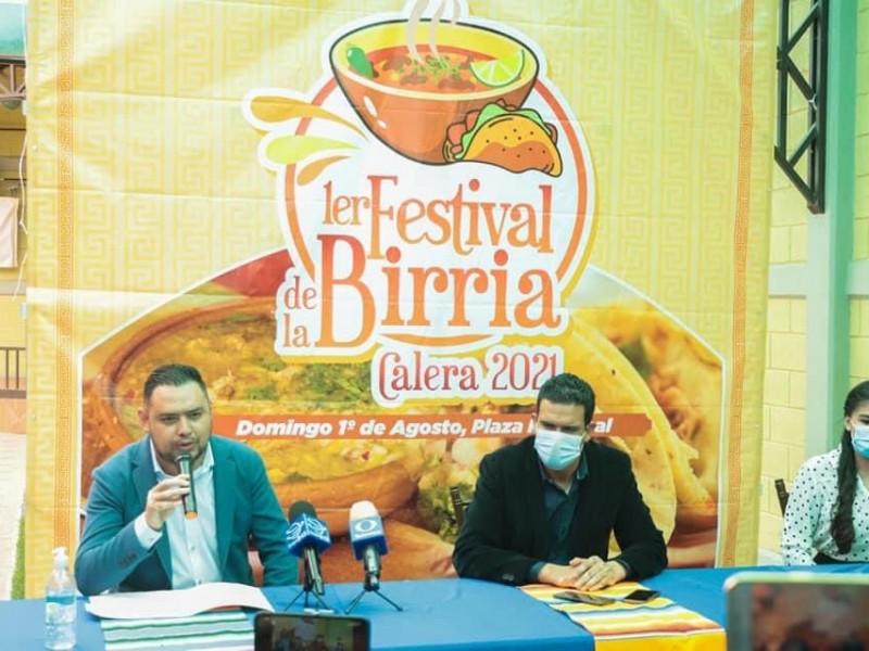 Presentan primer festival de la birria en Calera