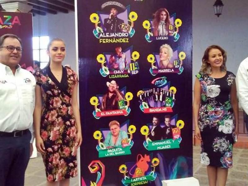 Presentan programa del Palenque de la Fenaza 2018