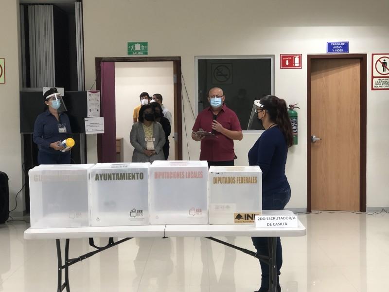 Presentan protocolos sanitarios para el próximo proceso electoral