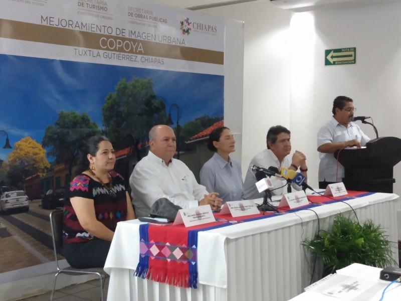 Presentan proyecto de mejora de imagen urbana Copoya