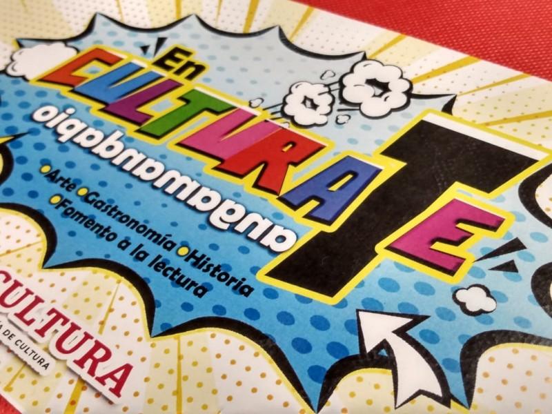 Presentan proyecto EnCulturaTe en Tangamandapio