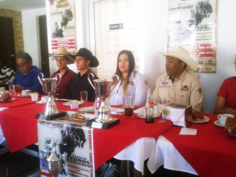 Presentan Rodeo a beneficio en Ciudad Lerdo
